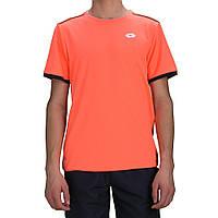 Теннисная футболка LOTTO AYDEX IV TEE B ora 805/nvy