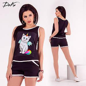 Костюм шорты+футболка (DG-ат-01137)