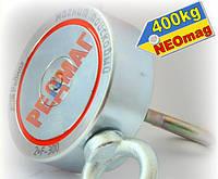 Двухсторонний поисковый магнит РЕДМАГ F300х2, 400кг, КАЛУГА, ОРИГИНАЛ