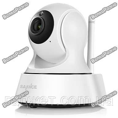 Поворотная Wi-Fi IP камера Sannce. Беспроводная WiFi  IP видеокамера на приложении Joi Lite. Модель 121AG