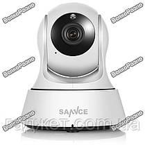 Поворотная Wi-Fi IP камера Sannce. Беспроводная WiFi  IP видеокамера на приложении Joi Lite. Модель 121AG, фото 2