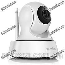 Поворотная Wi-Fi IP камера Sannce. Беспроводная WiFi  IP видеокамера на приложении Joi Lite. Модель 121AG, фото 3