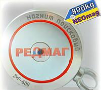 Самый мощный поисковый магнит РЕДМАГ F600х2, 600кг, N42