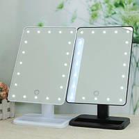 "Квадратное Зеркало с подсветкой LED для макияжа ""Smart Touch Mirror"""