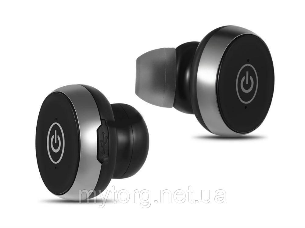 Товар имеет дефект Гарнитура Bluetooth Twins-S05 Уценка№291