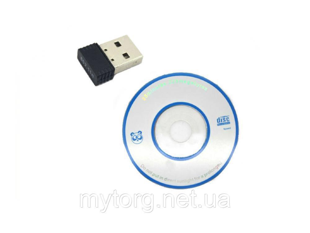Товар имеет дефект Мини USB WIFI сетевой адаптер Realtek RTL8188ETV 150Mbps Уценка №274