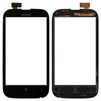 ОРИГИНАЛЬНЫЙ тачскрин Nokia 510 Lumia (сенсор, сенсорный экран) / Тачскрин Нокиа 510 Original (черный)