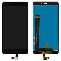 Оригинальный дисплей Xiaomi Redmi Note 4 черный (LCD экран, тачскрин, стекло в сборе)