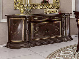 Комод у вітальню ДСП/МДФ Чикаго 4Д рубіно Миро-Марк