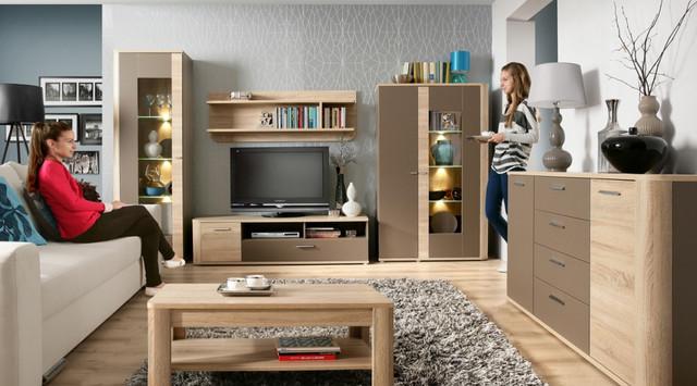 Наборные гостиные, модульная мебель