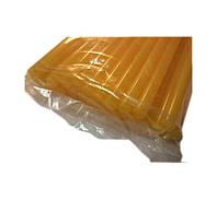 Клейові стержні 1 кг 11мм*30см (33шт) Жовті