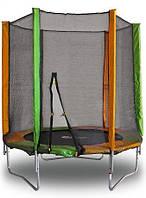 Батут для детей BT140 с защитной сеткой (диаметр 140 см, нагрузка до 100 кг) ТМ Kidigo