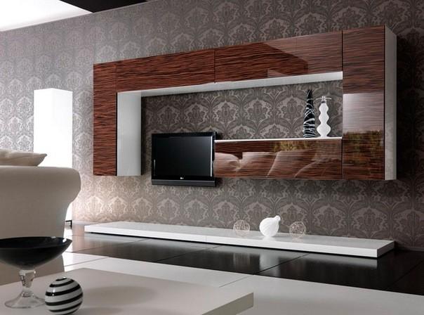 стенки в стиле модерн под заказ в киеве мебель в гостинную недорого