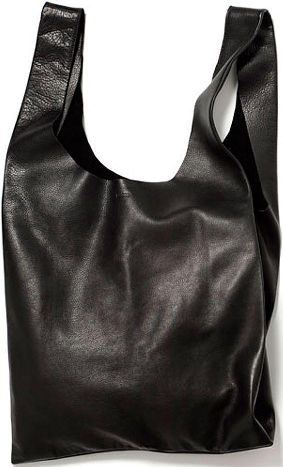 Женская кожаная сумка POOLPARTY leather-tote голубая, черная
