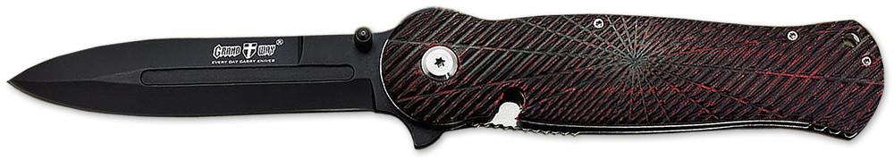 Нож складной E-40 с убирающимся клинком в рукоятку MHR /00-6