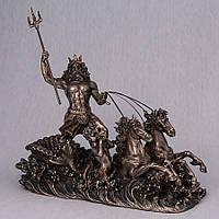 Статуэтка Veronese Посейдон, бог морей 25 см 76279A4