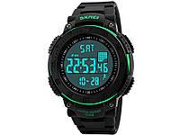 Спортивные часы с шагомером и LED-подсветкой SKMEI  Зеленый