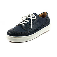 Кеды женские Tutto Shoes T3000 синяя кожа