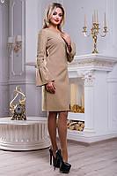 Платье с вышивкой на рукавах SV2461, фото 1