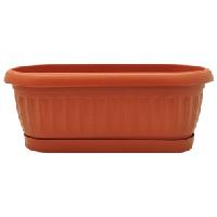 Вазон «Терра» кактусовка (Алеана) 26,5х10,2