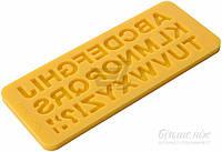 Форма силиконовая для приготовления украшений для кондитерских изделий Delicia Deco Алфавит 633054 Tescoma