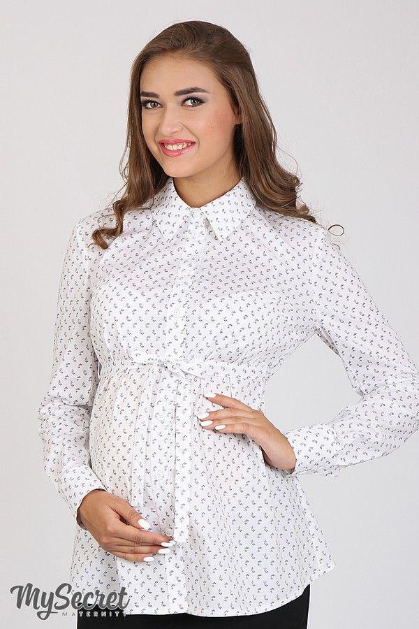 d14f966579b6e6d Блузка для беременных и кормящих р. 48 ТМ Юла Мама Noni BL-36.032 ...