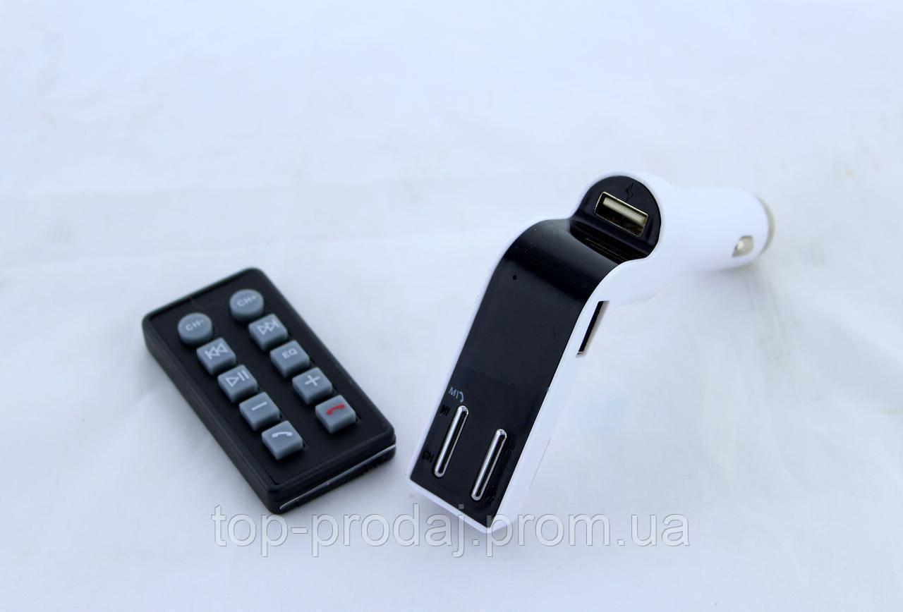 Трансмитер FM MOD. CM 590 + BT, Модулятор, fm трансмиттер, Трансмитер в авто