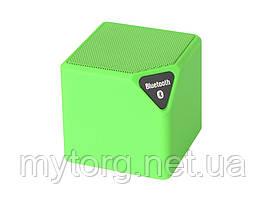 Портативный Bluetooth динамик X3 MINI с FM-радио  Зеленый