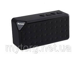 Колонка Bluetooth X3 FM-радио  Черный