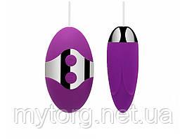 Виброяйцо с проводным пультом Yolianw  Фиолетовый