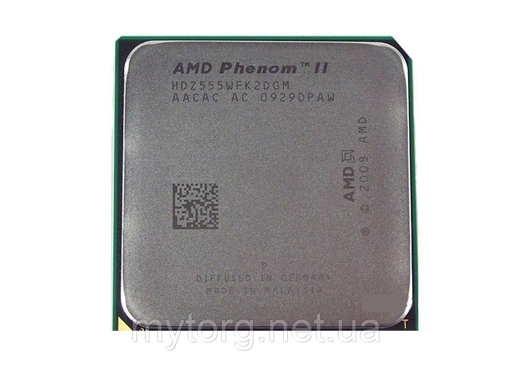 Процессор AMD Phenom II X2 555 (3.2 Ghz) Black Edition s.AM3/AM2+