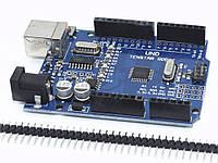 Отладочная плата TENSTAR ROBOT UNO R3 CH340G MEGA328P 16 мГц
