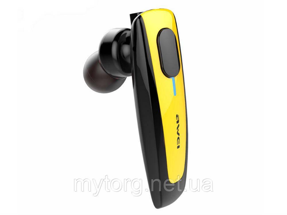 AWEI N3 Bluetooth гарнитура наушники  Желтый