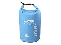 Водонепроницаемый мешок для рафтинга кемпинга и туризма 2L Синий