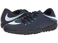 Кроссовки/Кеды (Оригинал) Nike Hypervenom Phelon III TF Obsidian/White/Gamma Blue/Glacier Blue