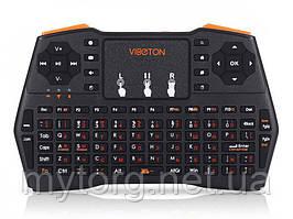 Беспроводная мини клавиатура Viboton i8 USB 2.0 2.4 ГГц для ПК Андроид Xbox360  Черный