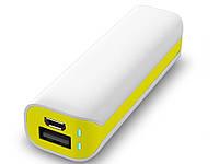 Внешнее зарядное устройство Power Bank  2600mAh  Желтый