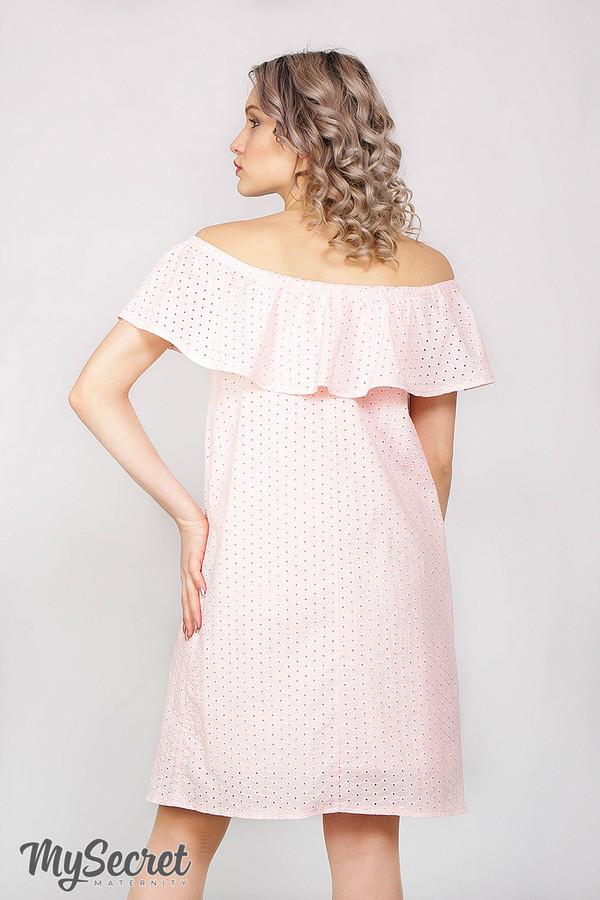 11067979da6 Сарафан для беременных и кормящих летний розовый  продажа