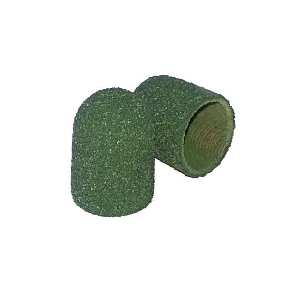 Колпачок песочный зеленый очень грубый 10 мм.