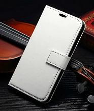 Шкіряний чохол книжка для LG G3 mini білий
