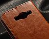 Кожаный чехол-книжка для Samsung Galaxy J5 2016 J510 J510F J510G J510Y J510M красный, фото 4