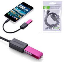 Micro USB OTG кабель-адаптер Ugreen US133 (Черный, 0.5м), фото 3