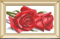 """Набор алмазной вышивки """"Красные розы"""""""