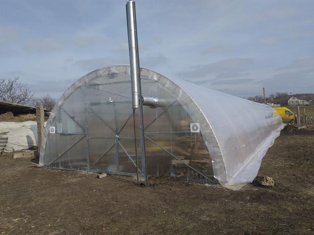 фермерские теплицы под пленку шириной 6м