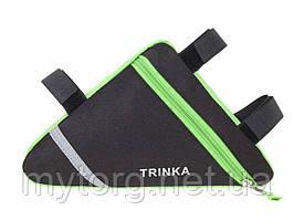 Велосумка подрамная Trinka  Зеленая