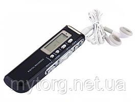 Диктофон с активацией голосом 8Gb  Черный