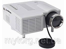 Портативный проектор UC28+  Белый
