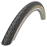 "Покрышка 28""x1.75"" (47-622) Schwalbe ROAD CRUISER K-Guard Active B/G HS484 GREEN 50EPI"