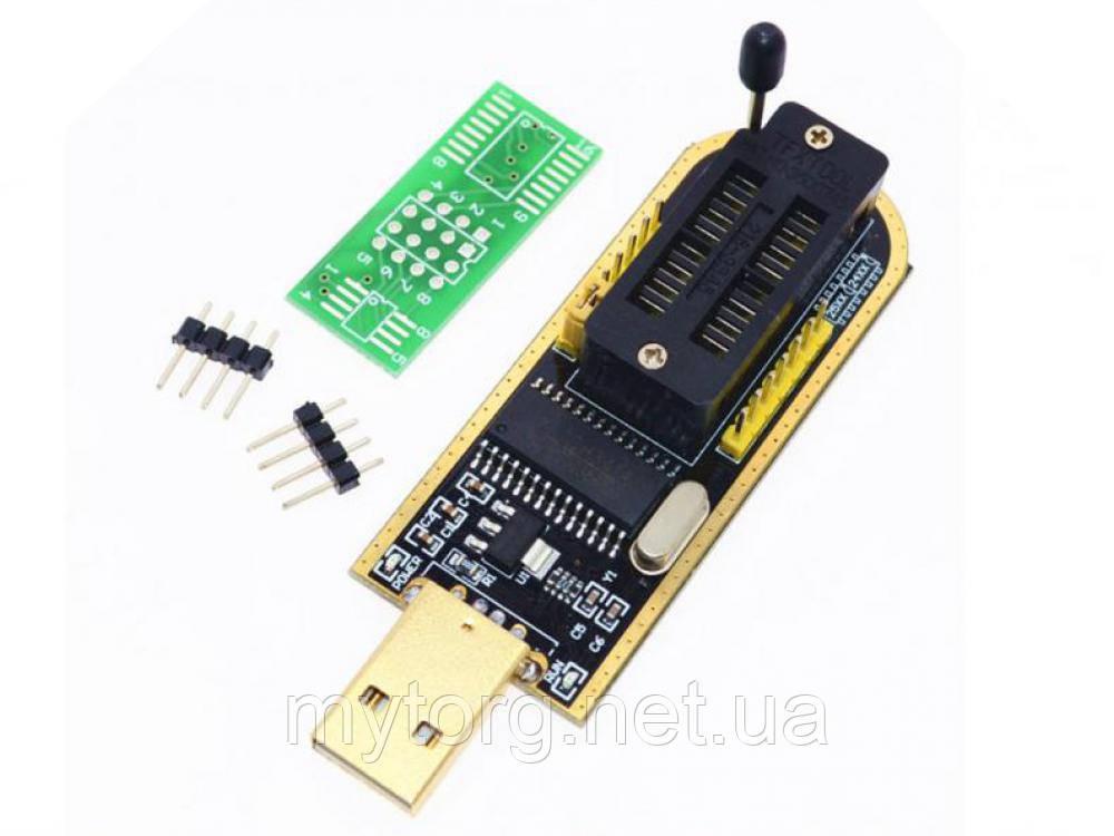 USB Программатор CH341A I2C SPI UART EEPROM Flash BIOS