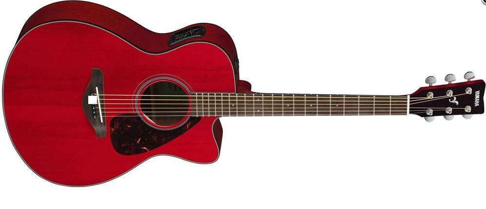 Электроакустическая гитара YAMAHA FSX800C (RR)